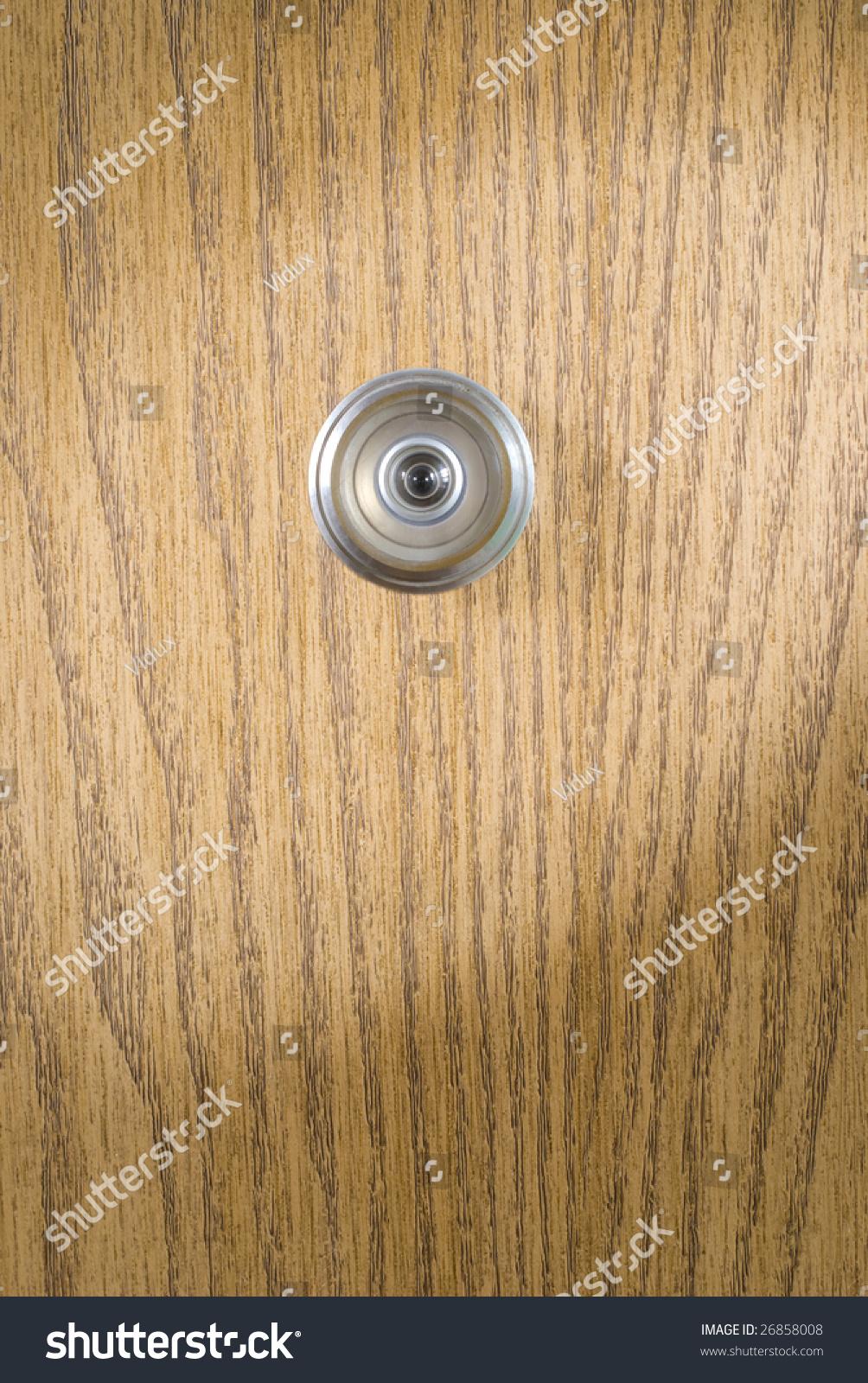 Spy hole of doors & Spy Hole Doors Stock Photo (Royalty Free) 26858008 - Shutterstock