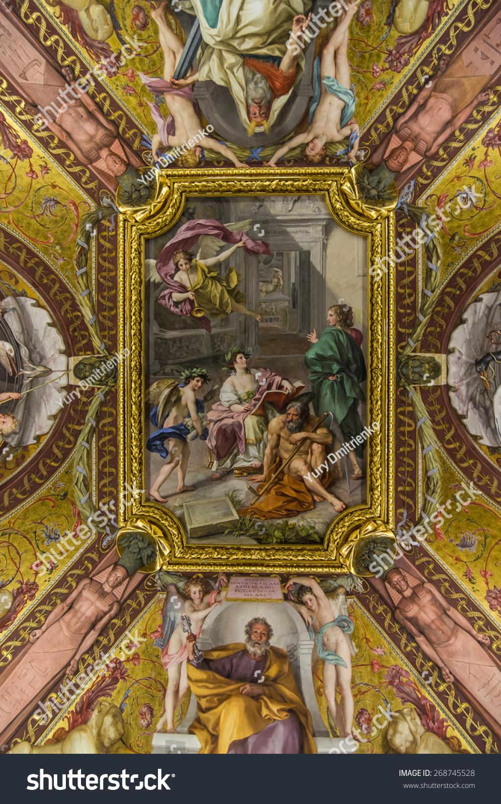 April 16, 2013: Ceiling Fresco The