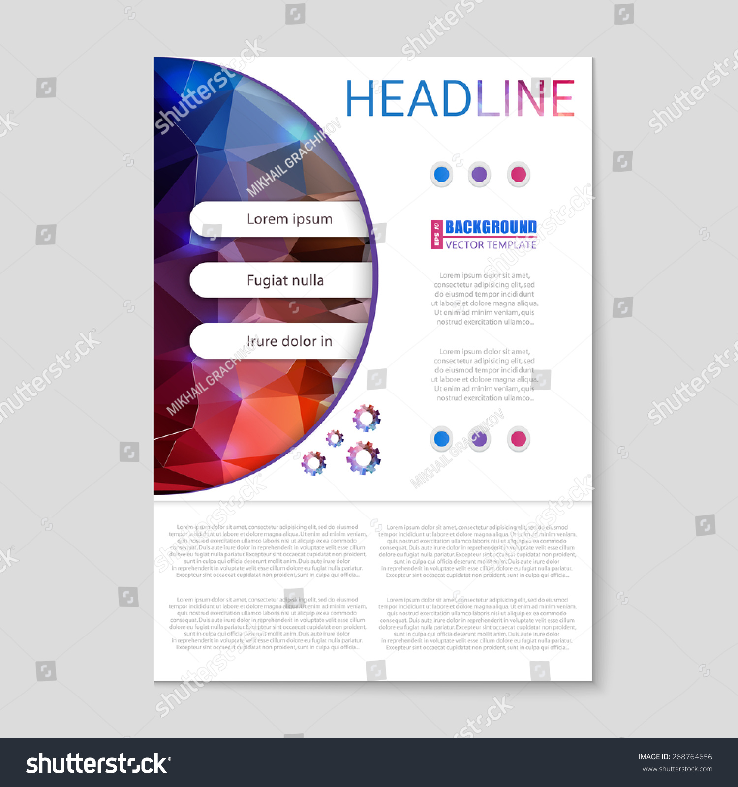 abstract creative concept vector booklet list stock vector abstract creative concept vector booklet list for web and mobile applications art template design
