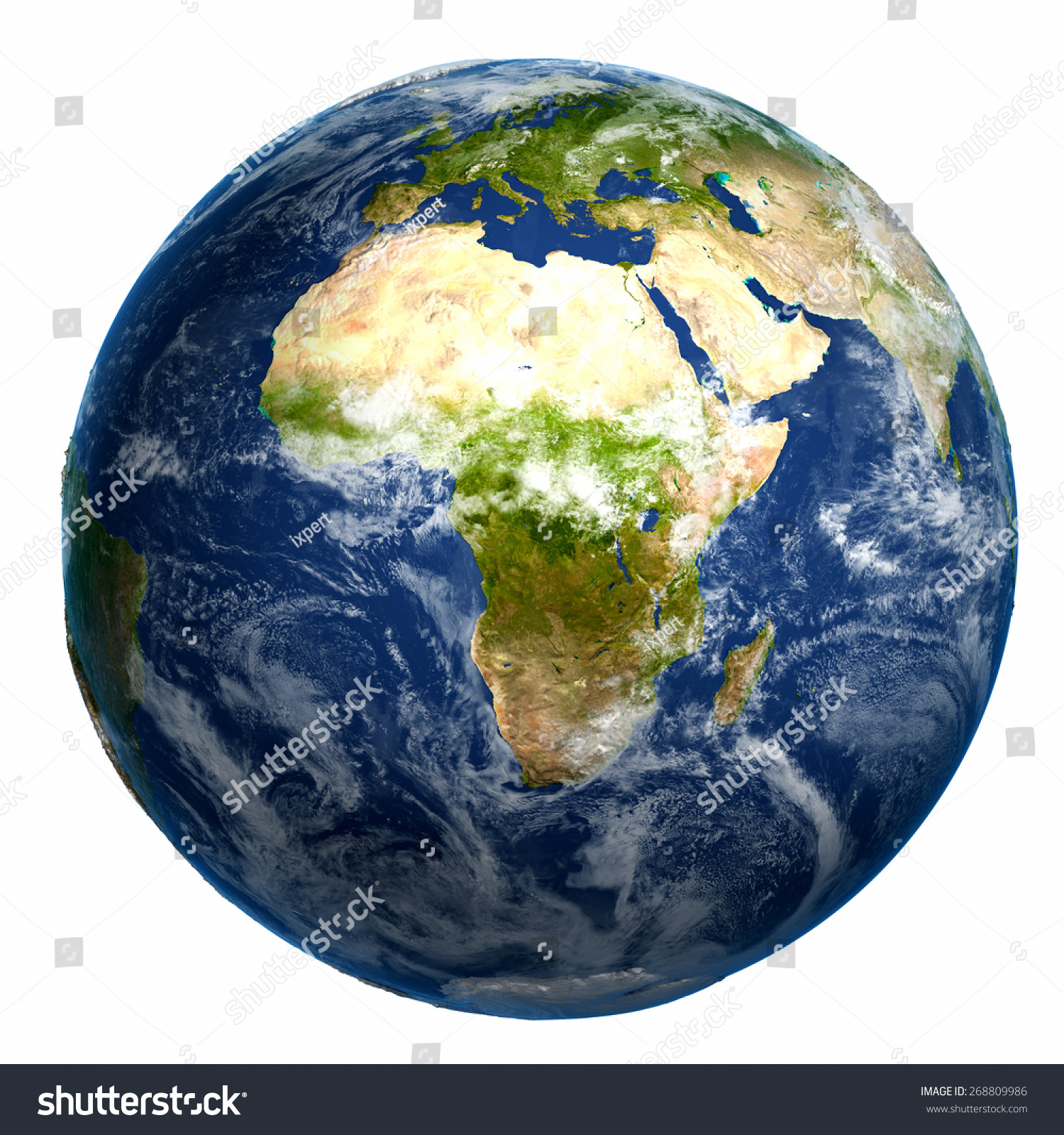 Earth Globe Map Elements This Image Stock Illustration - Earth globe map