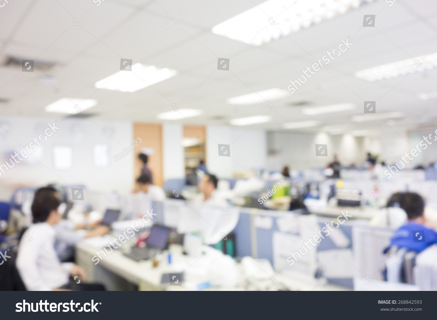Blurred office background template create montage blurred office background template for create montage product display voltagebd Images