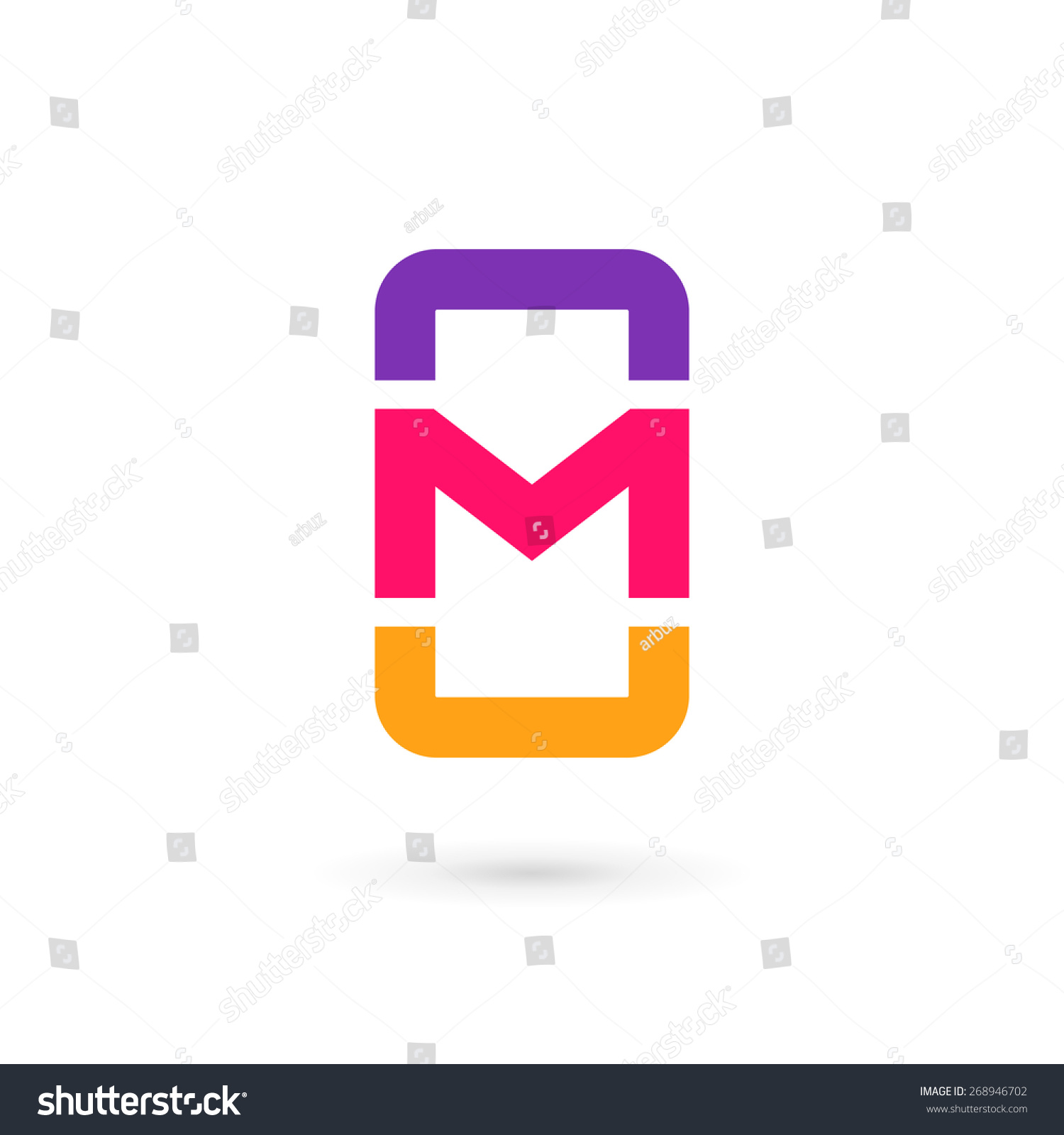 letter designs app mobile phone app letter m logo stock vector 268946702 letter designs app