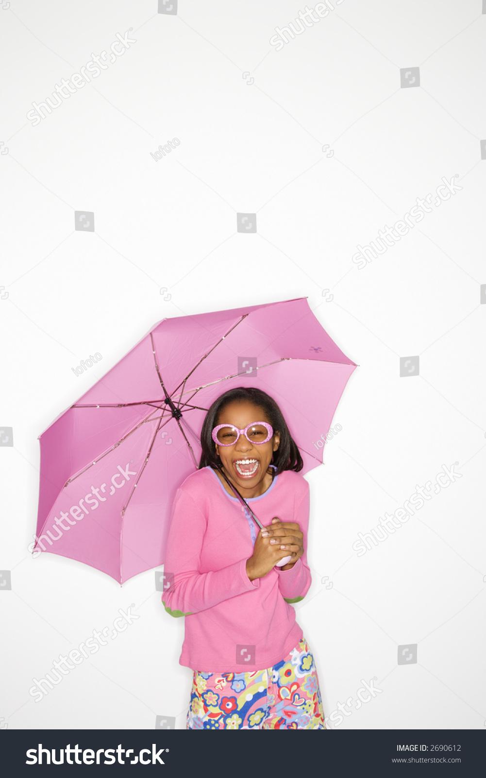 Portrait Of African American Teen 106