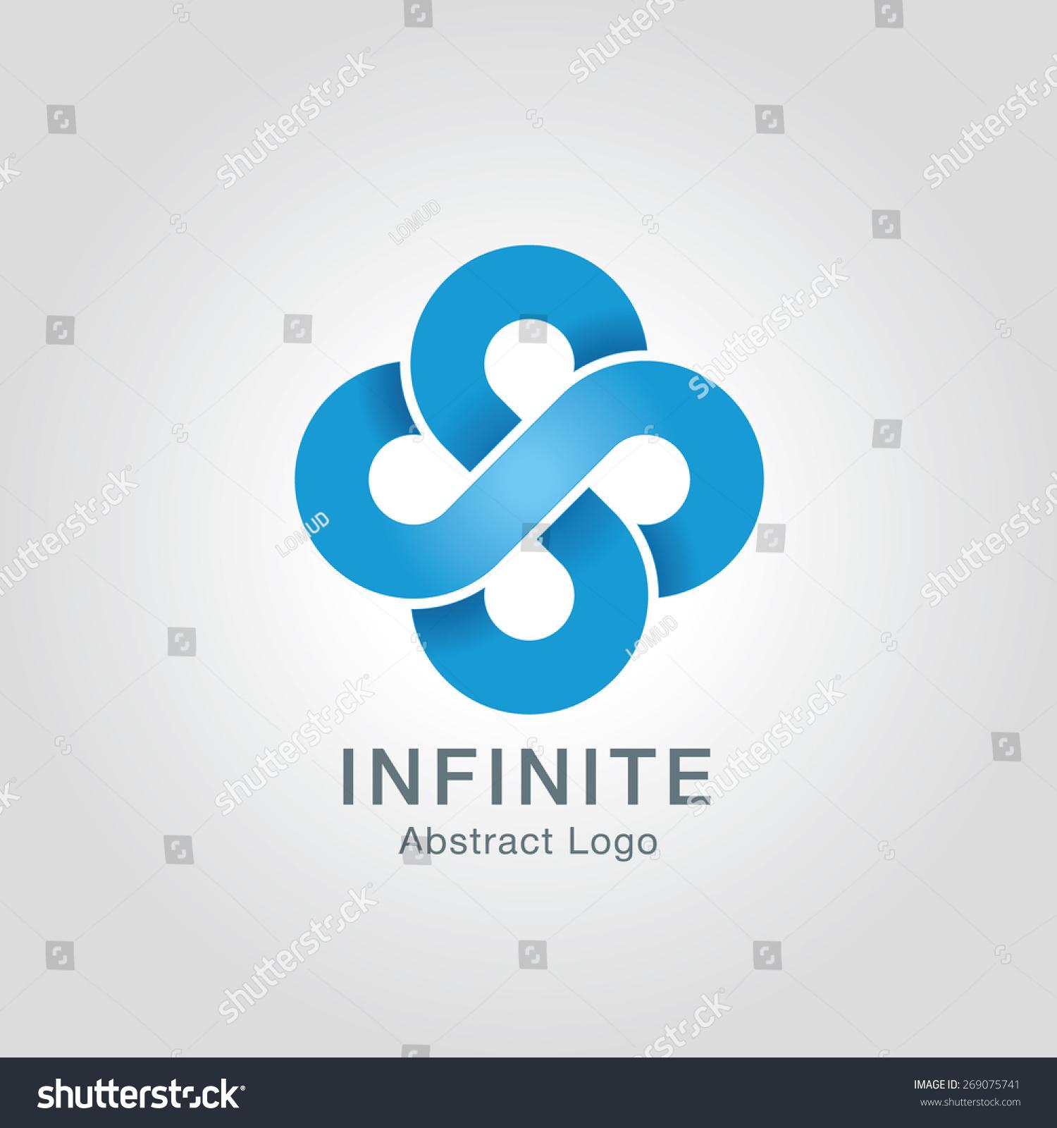 Infinite Limitless Symbol Icon Logo Design Stock Photo Photo