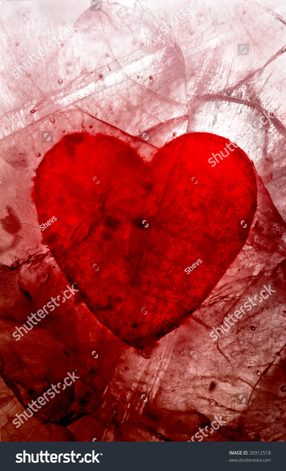 My Bloody Valentine; Bloody Heart In Ice