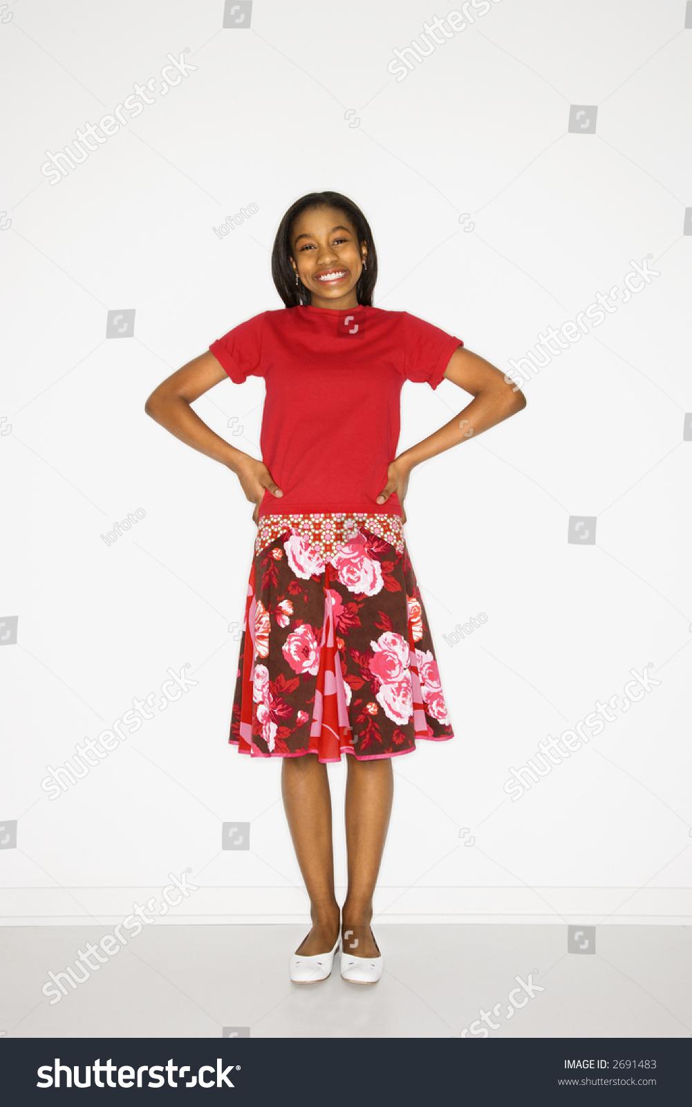 Portrait Of African American Teen 102