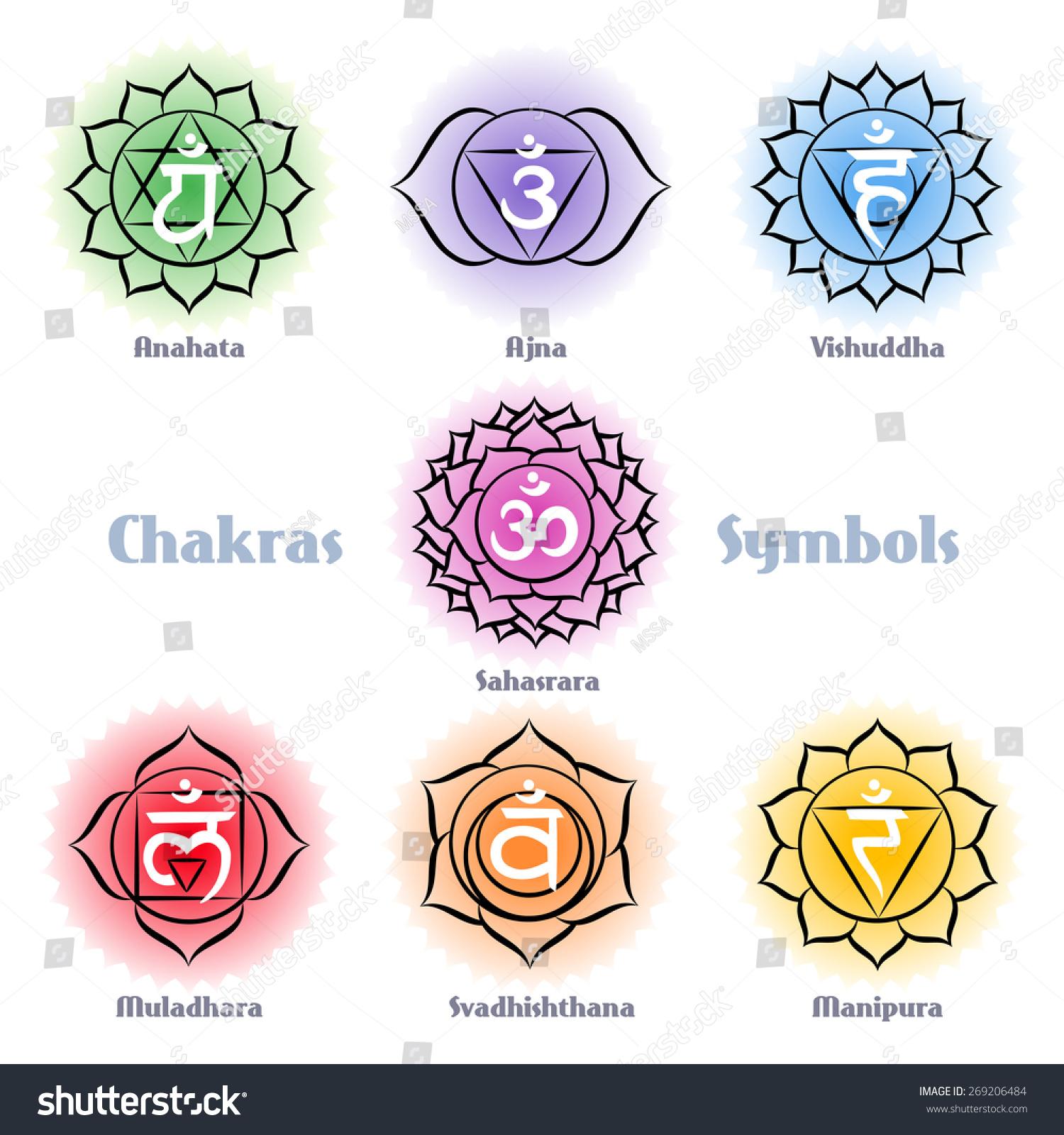 Pin Vector Chakra Series Swadhisthana Or Sacral Symbol on ...