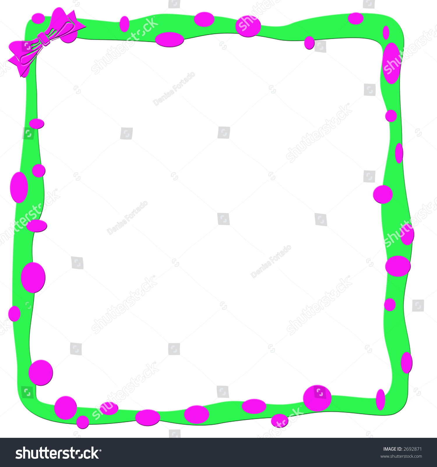 Illustrated pink green girlish page frame stock illustration illustrated pink and green girlish page frame jeuxipadfo Images