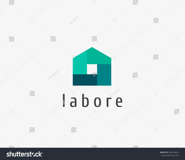 House logo design vector house and home design for Best house logo design
