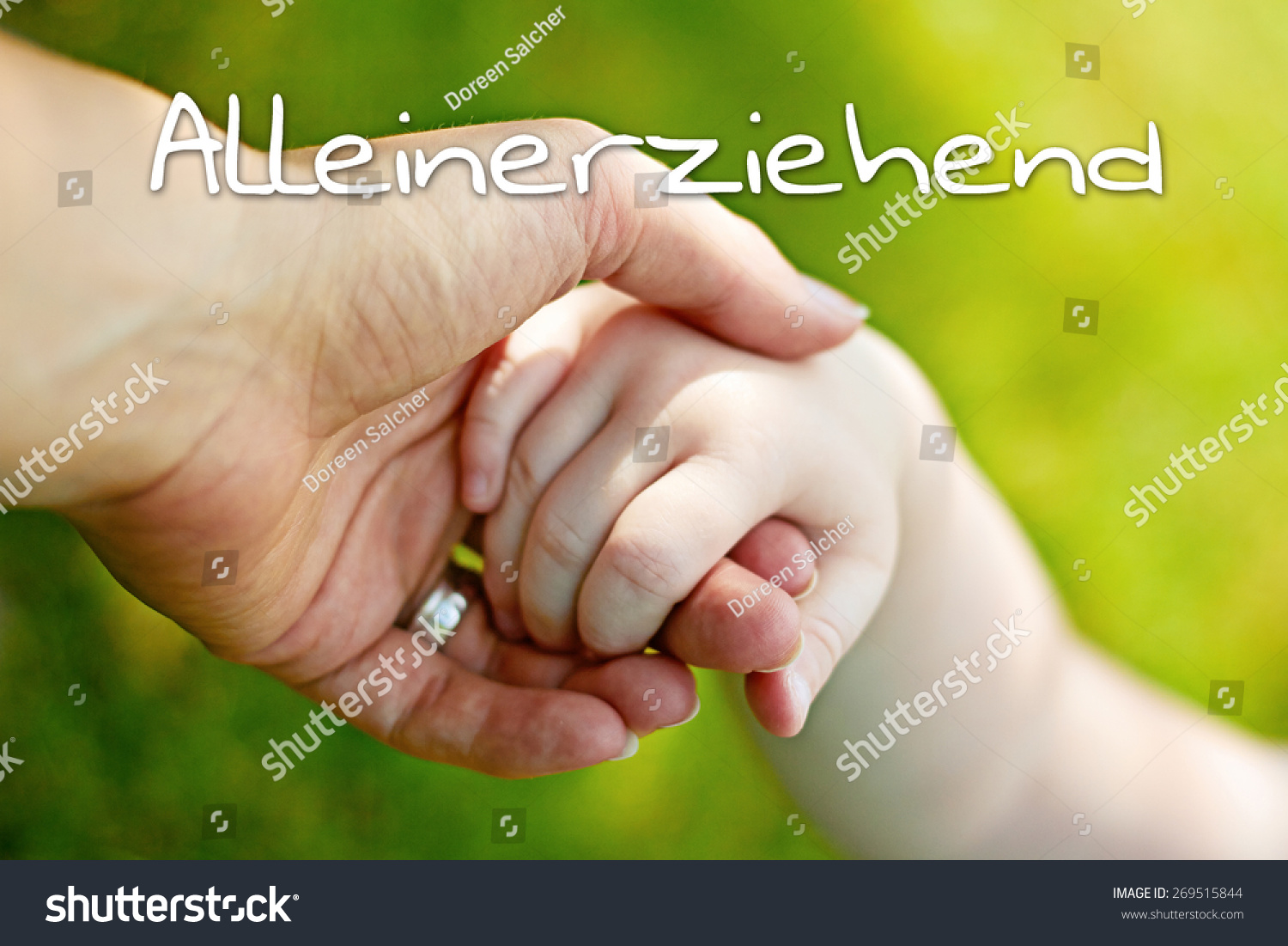 Greeting Card Background Hands Mother Child Stock Photo Edit Now