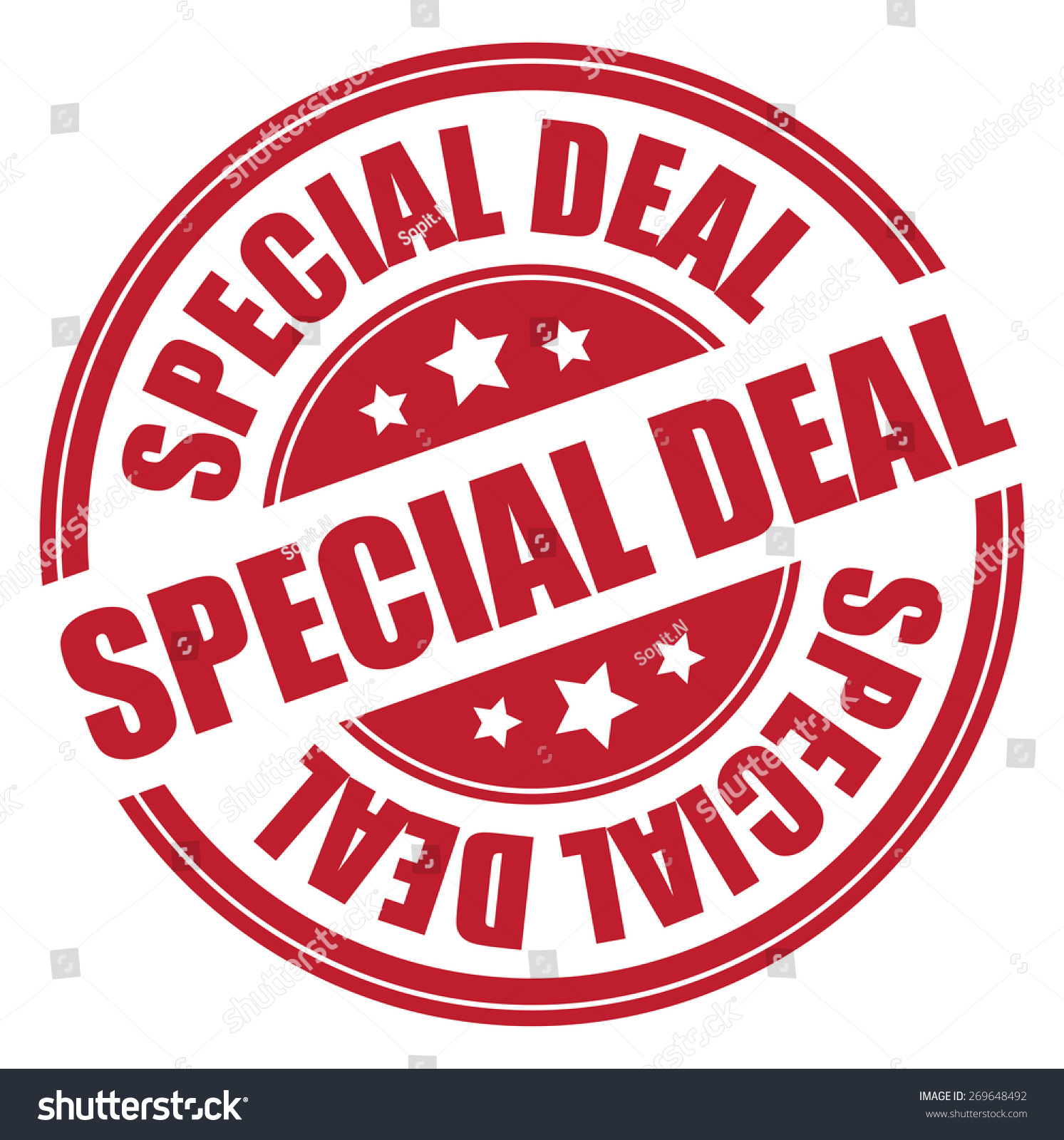 Special deal red banner — Stock Photo © marinini #22057681