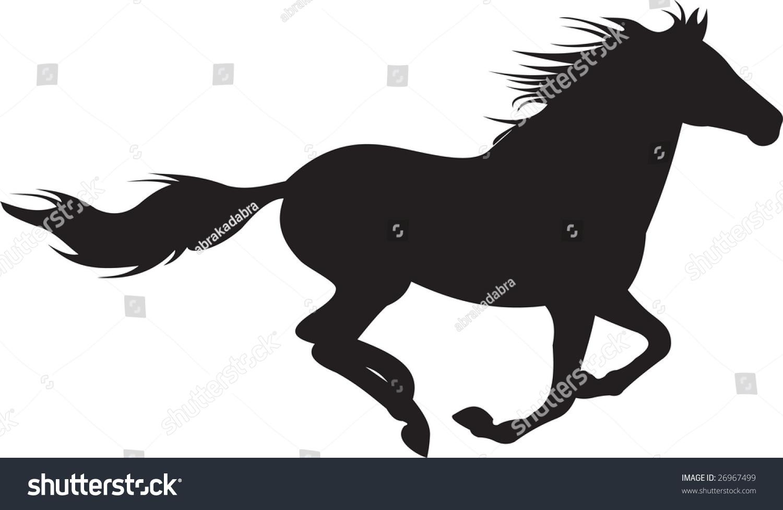 horse vector stock vector 26967499 shutterstock May Clip Art Horse Racing Clip Art