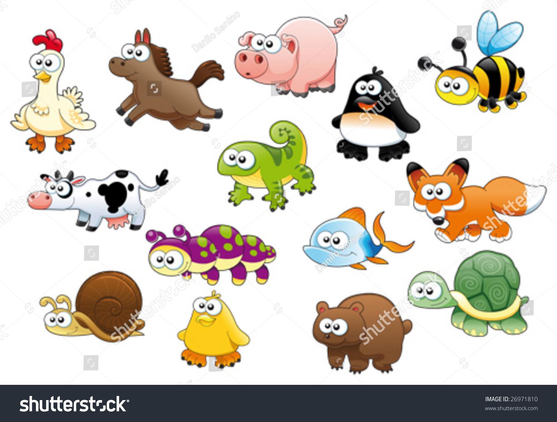 Животные рисунки для детей цветные 6