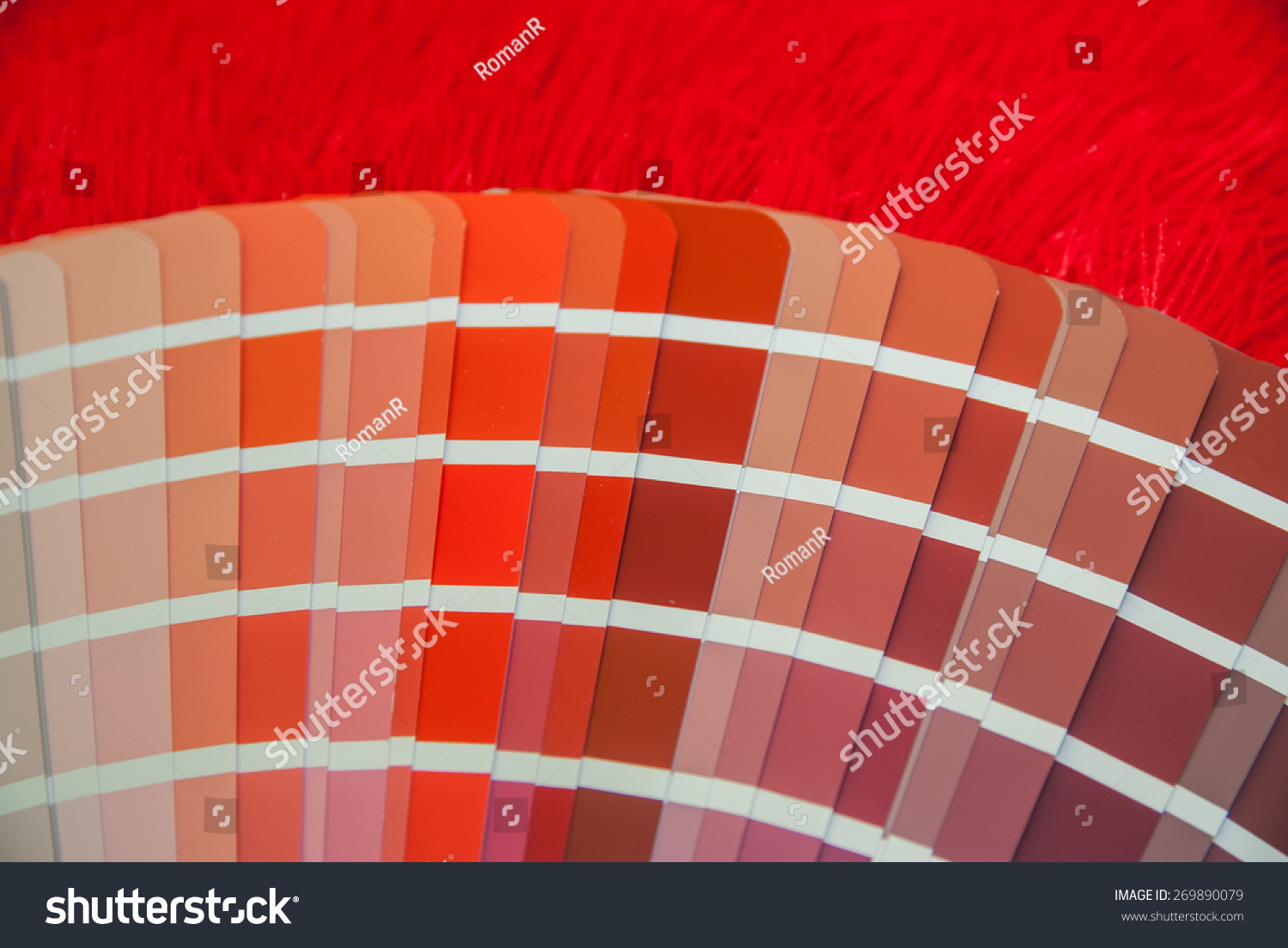 Uncategorized Red Color Pallette red color palette guide printing industry stock photo 269890079 for isolated