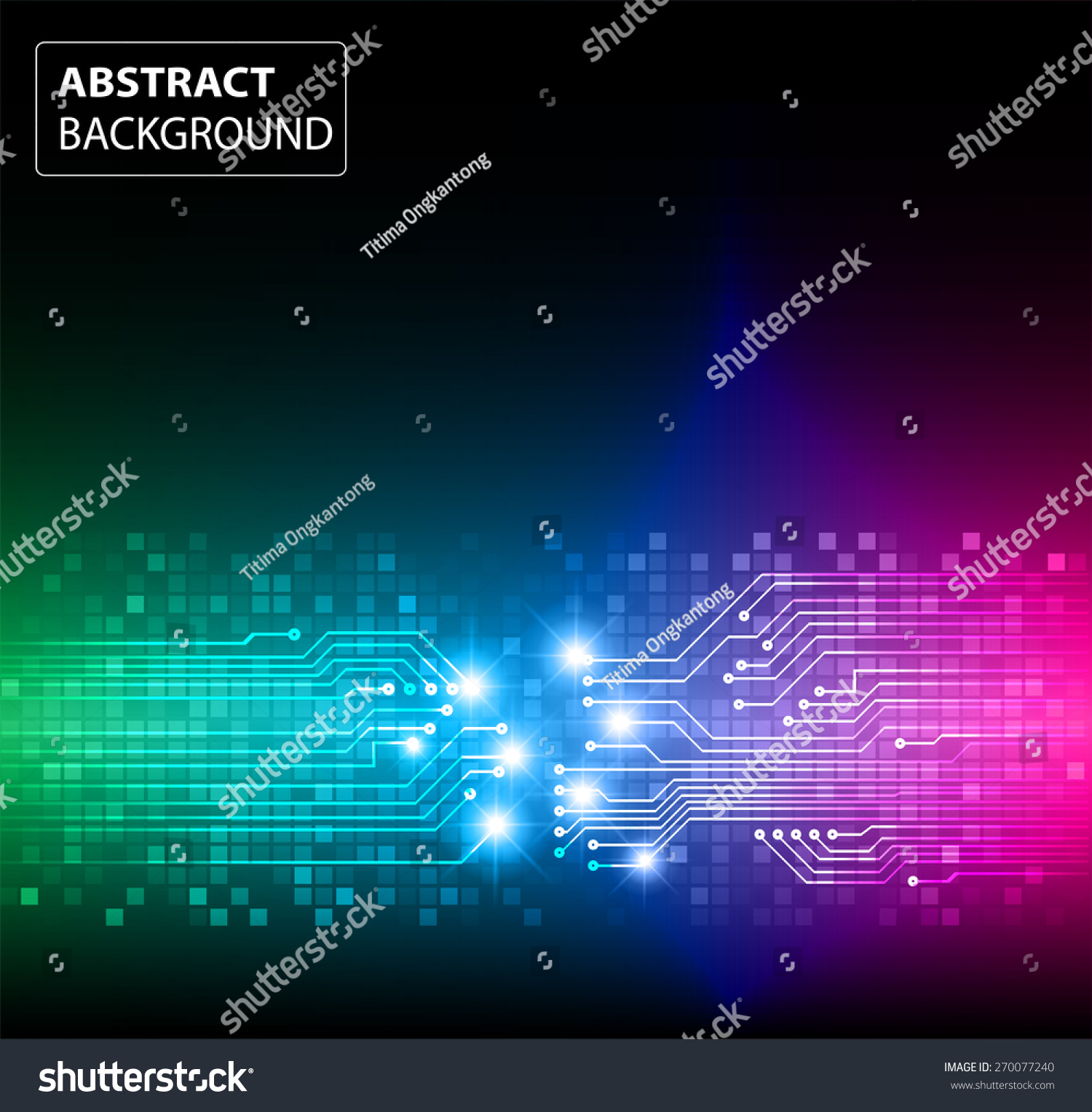website colors neon : Dark Green Blue Pink Color Light Abstract Technology Background For Computer Graphic Website Internet And Business