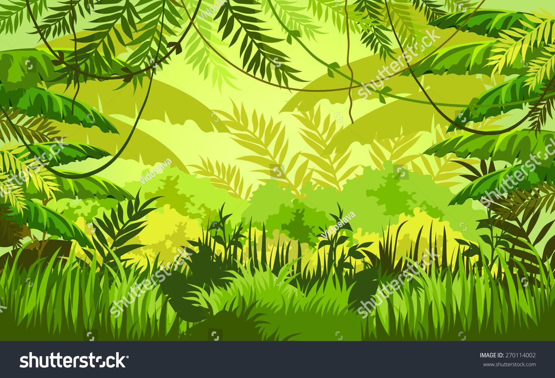 vector scenery tropical - photo #46