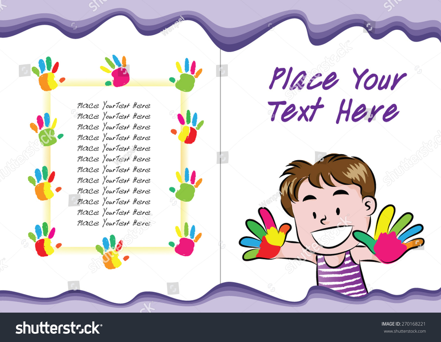 Book Cover Design Kids ~ Kids book cover design stock vector shutterstock