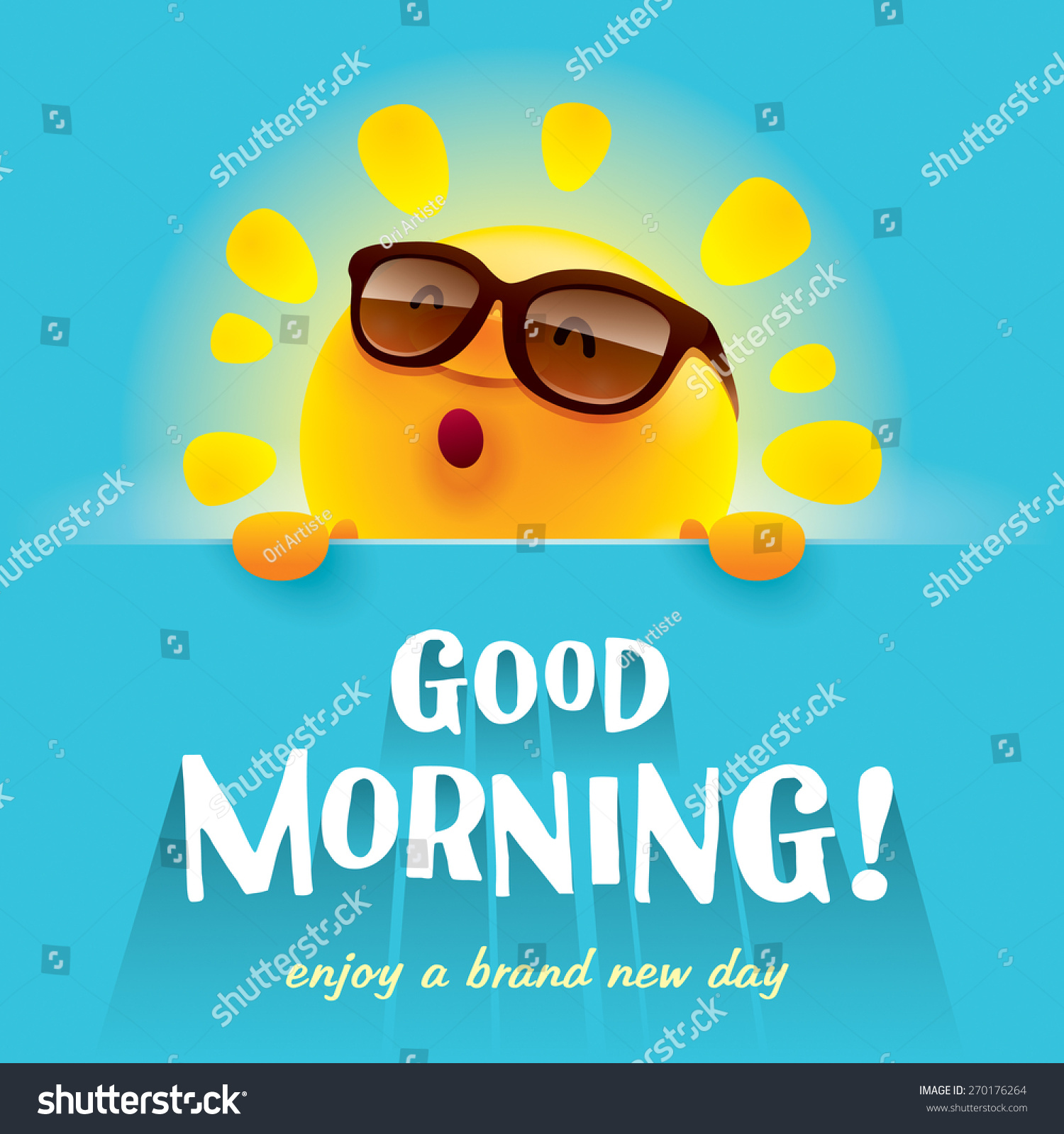 Good Morning Stock Vector (Royalty Free) 270176264