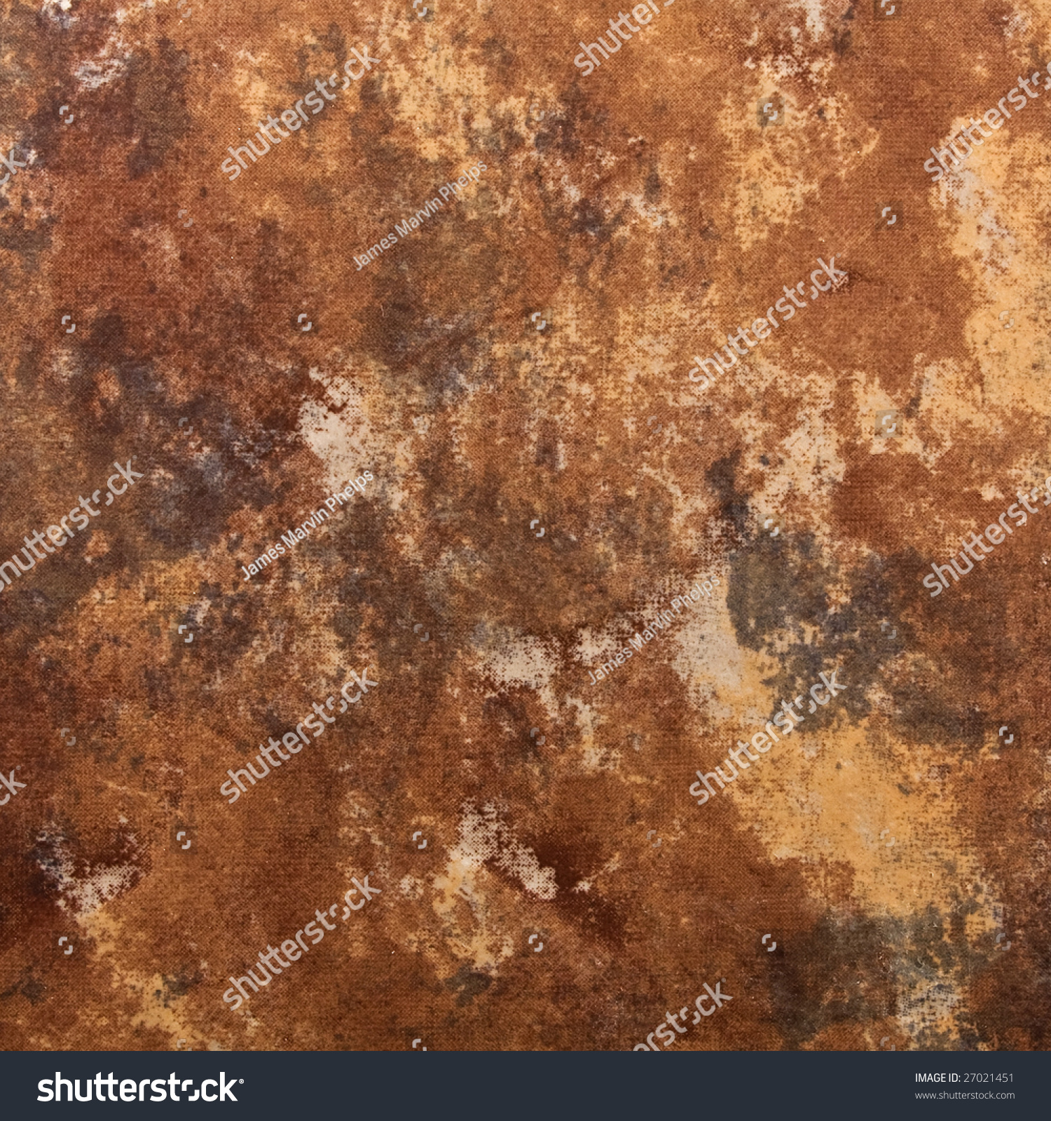 Earth Tone Ceramic Tile Square Abstract Stock Photo