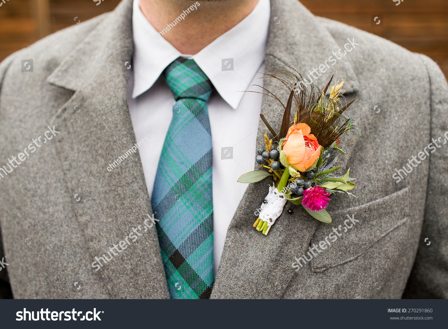 Royalty-free Cool Boutonniere on hip trendy groom at… #270291860 ...