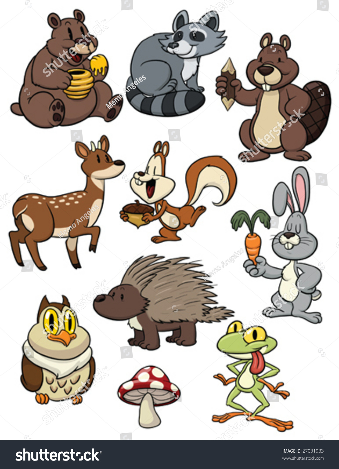 Cartoon Animals Together Pictures to Pin on Pinterest ...