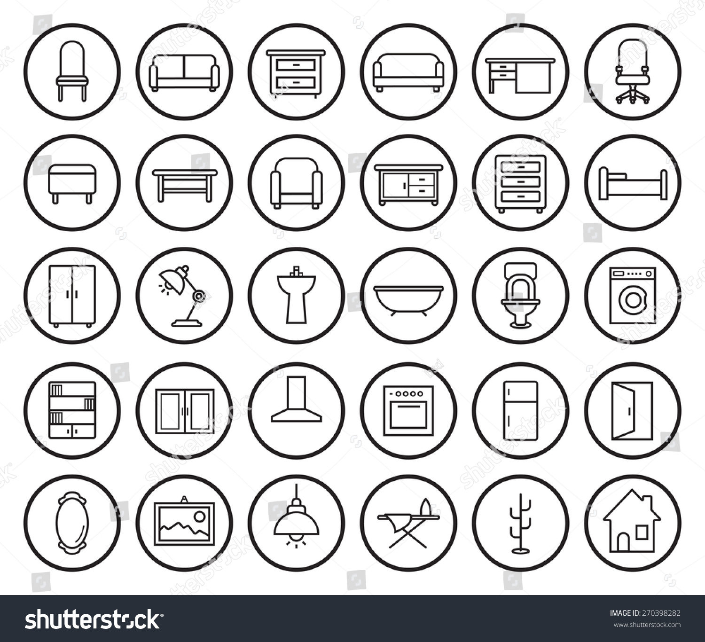 Vector Linear Graphic Design Concept Made Stock Vector ...  |Linear Graphic Art