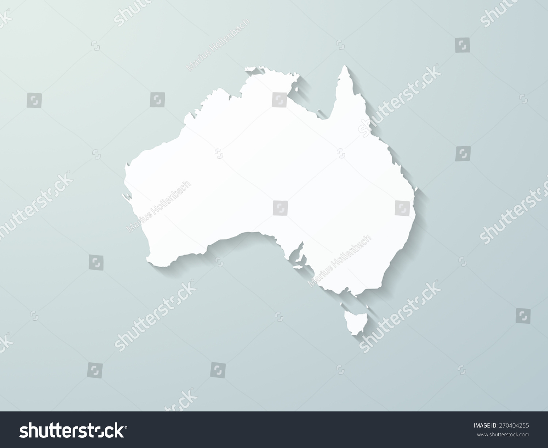 Australia Map Shape.Australia Map Shape Ez Canvas