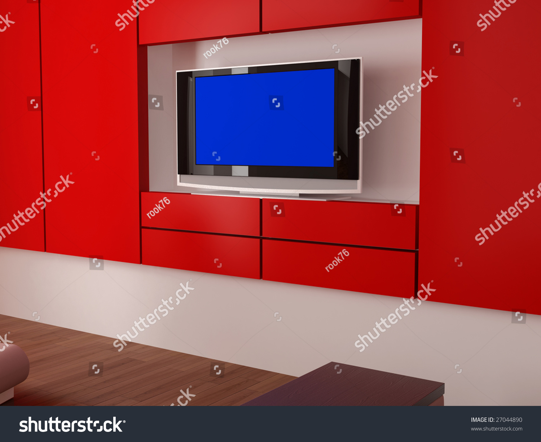 High resolution image interior 3d illustration stock for High resolution interior images