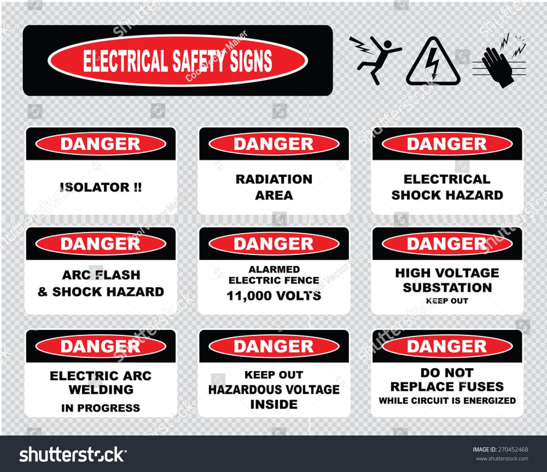 Power Substation Hazards