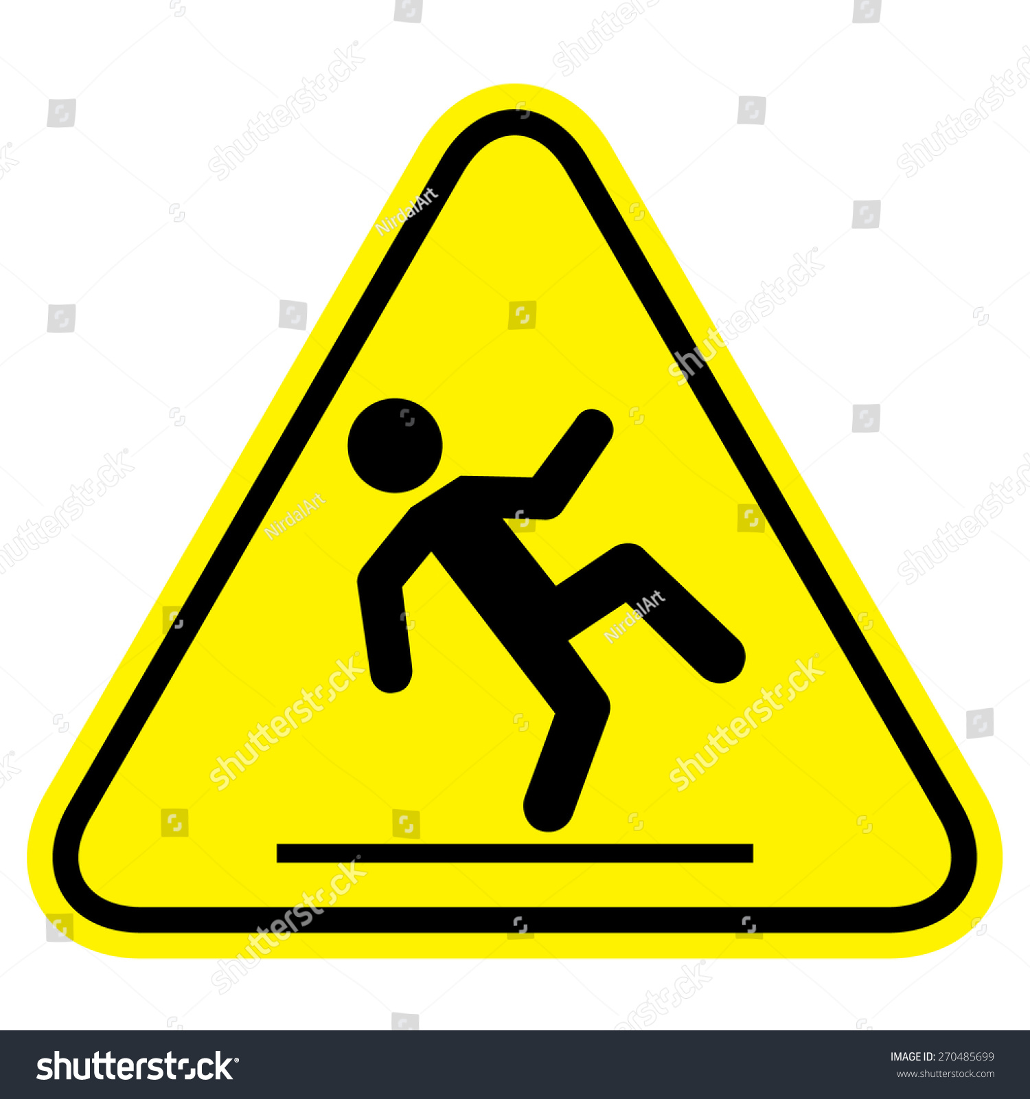 vectorstock free wet vector sign royalty floor image