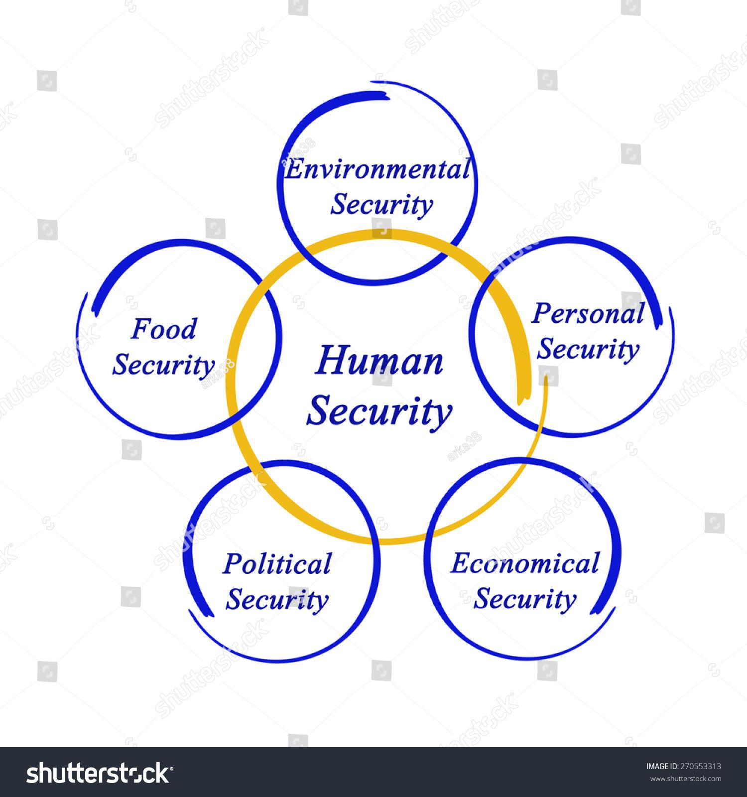 Diagram Human Security Stock Illustration 270553313 - Shutterstock