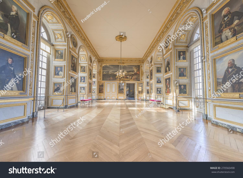 Versailles france april 18 2015 room stock photo 270560498 for Salle de bain louis xv versailles