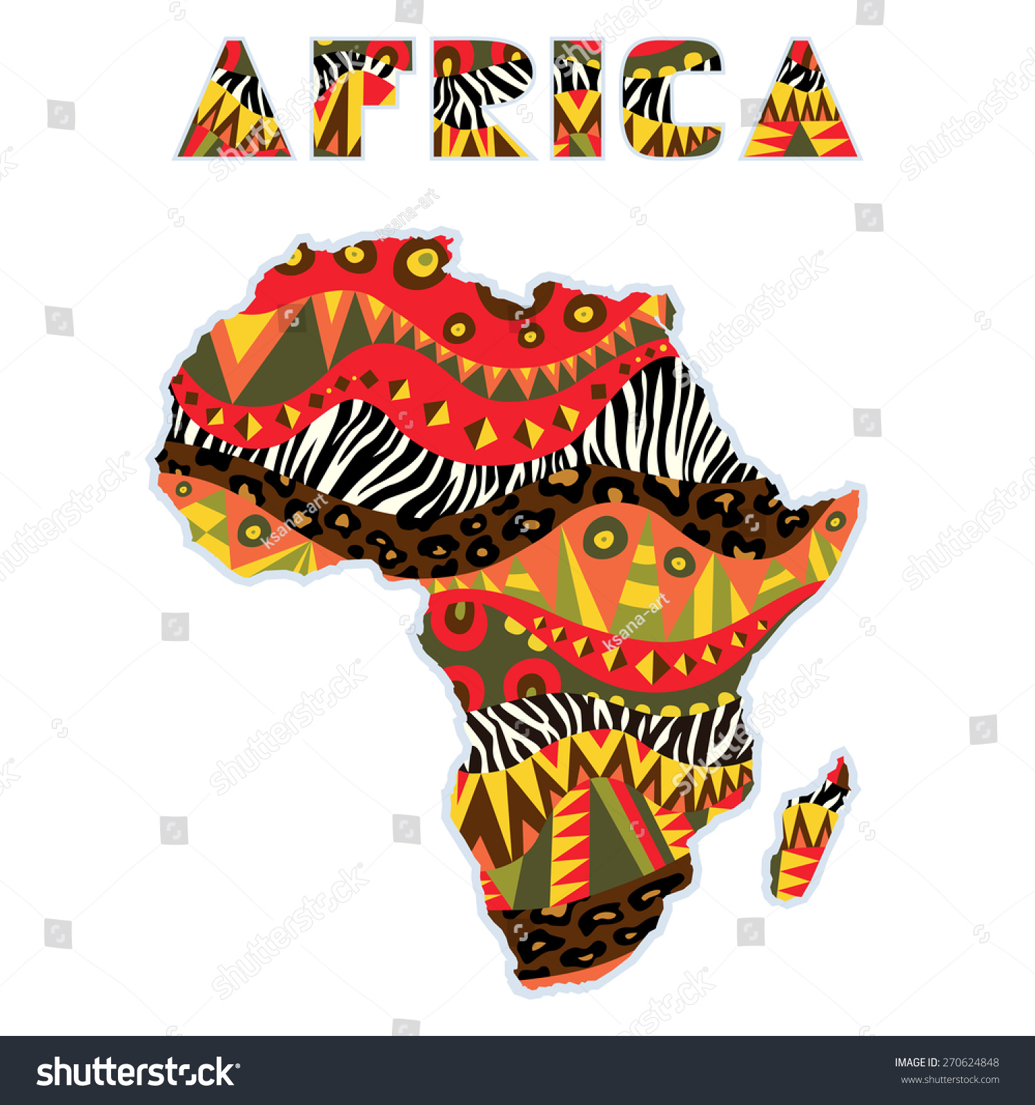 Knitting Color Design Inspiration From Around The World : African most popular colors ornate africa continent art