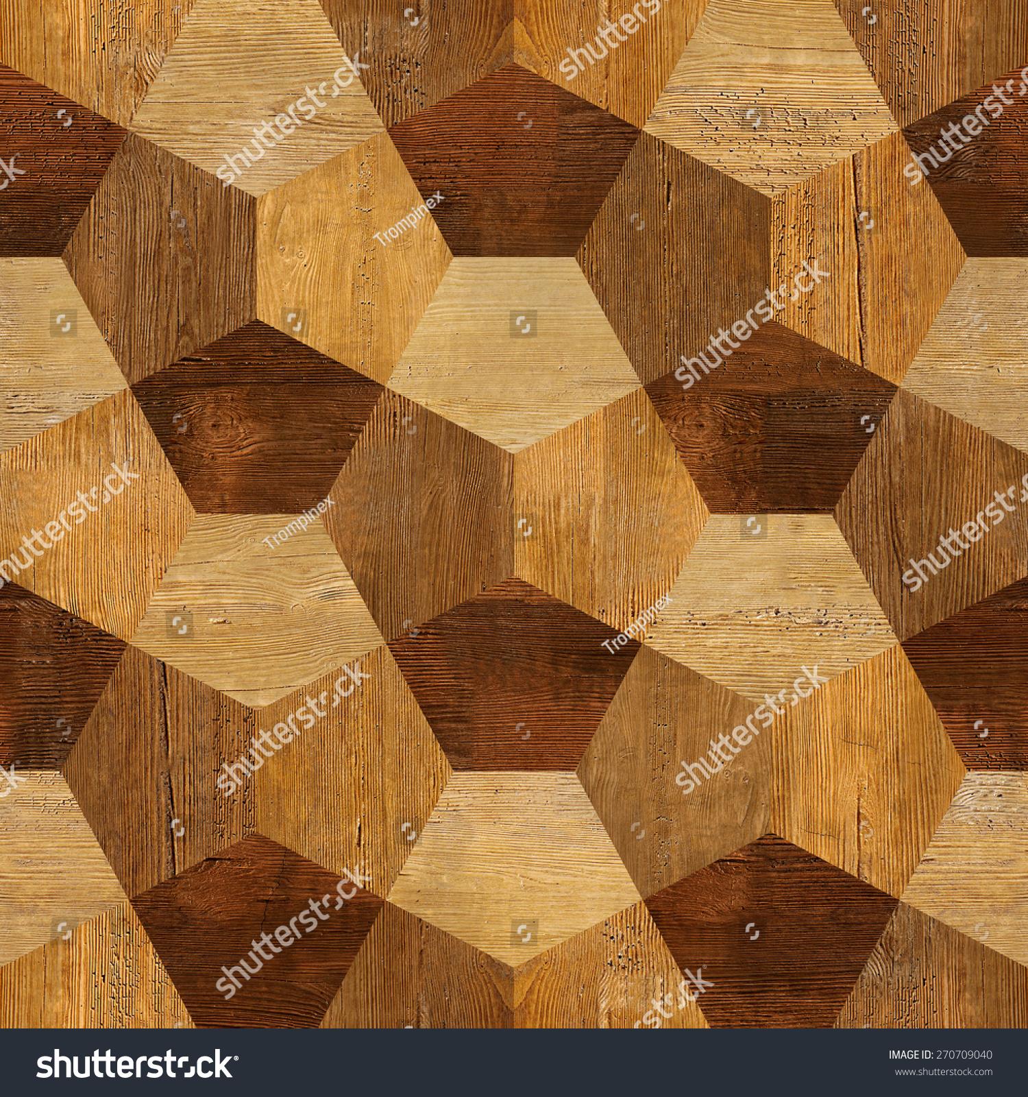 Abstract Decorative Blocks   Interior Wall Decor   Decorative Tiles    Seamless Background   Wood Texture