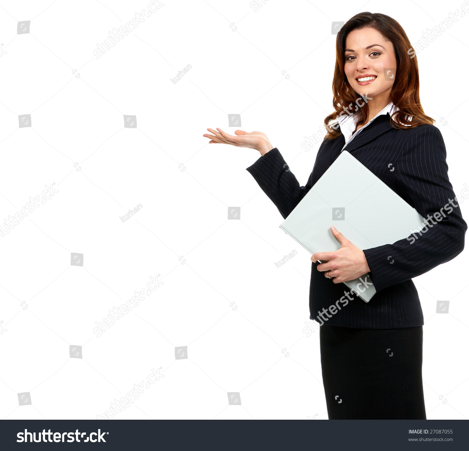 happy successful business w isolated over stock photo  happy successful business w isolated over white background