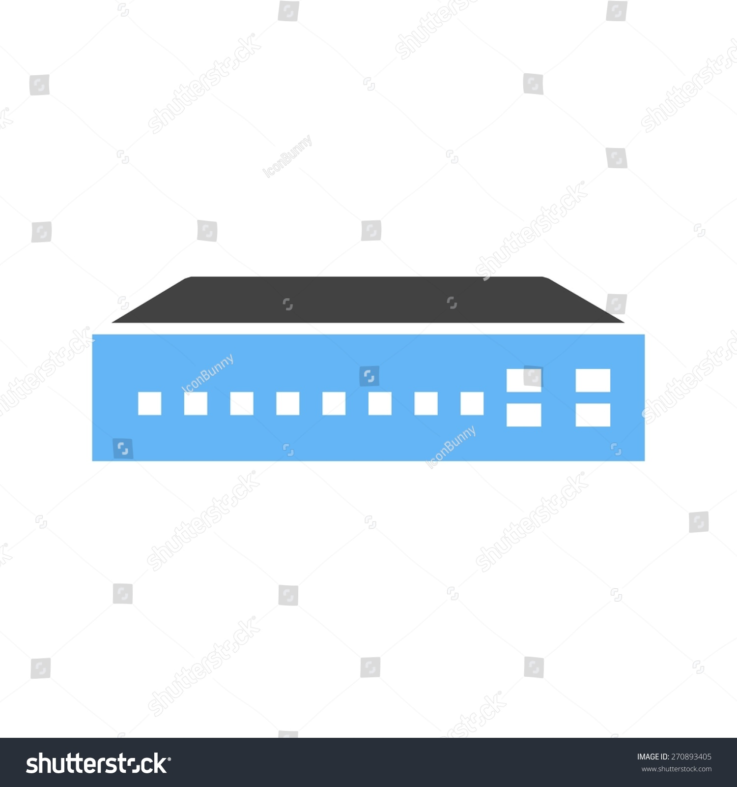 Networking Switch Network Router Icon Vector Stock Vector (2018 ...