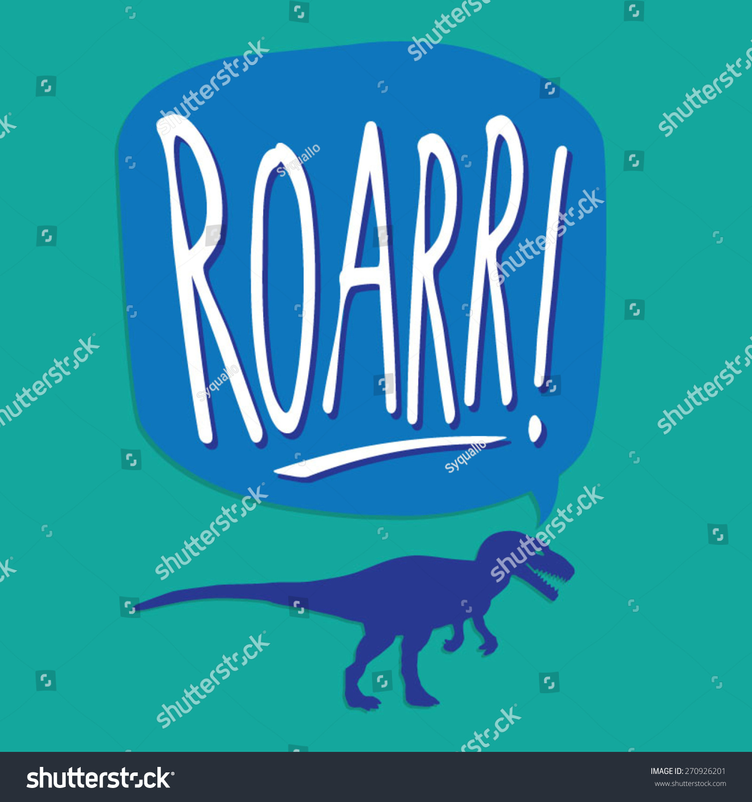 Dinosaur typography t-shirt graphics vectors