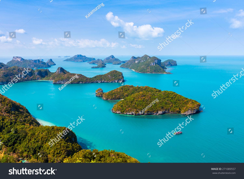 Panorama Ang Thong National Marine Park Stock Photo 271089557 - Shutterstock