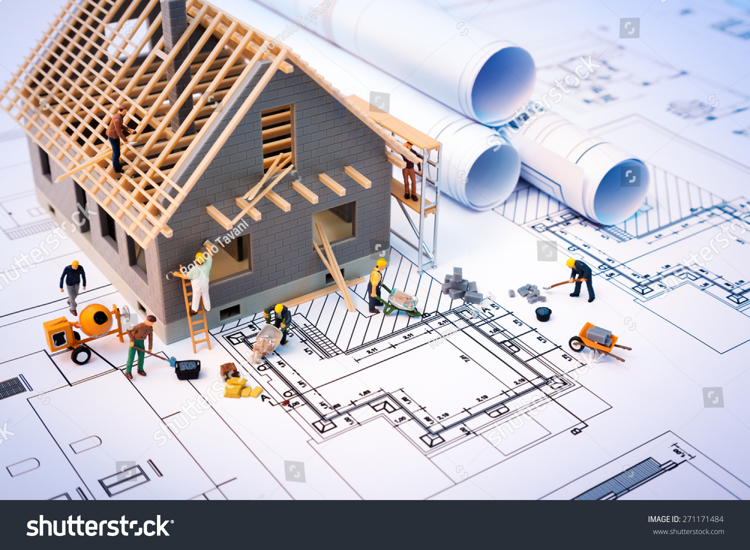 Building a house project plan