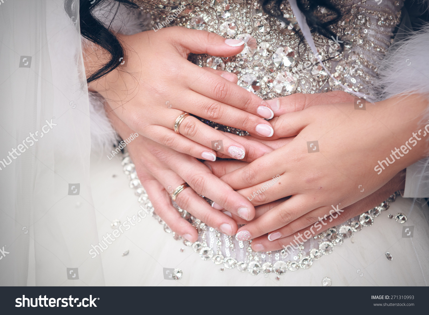 Wedding Ring Exchange Stock Photo (Safe to Use) 271310993 - Shutterstock