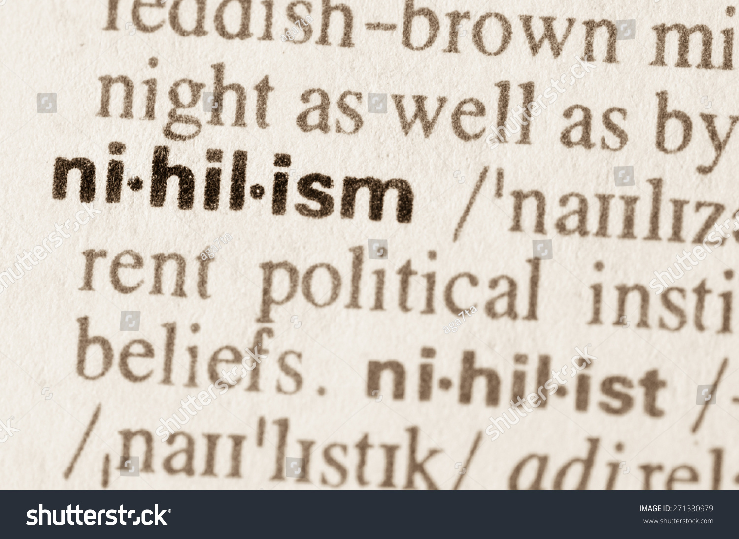 an overview of the concept of nihilism The banalization of nihilism  description : after a historical and conceptual overview of the changing face of nihilism in the last century,.