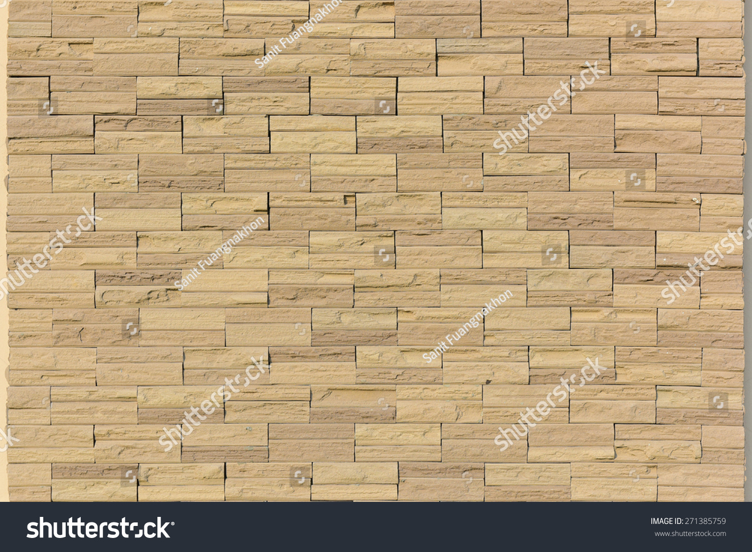 Cut Rectangle Sand Stone Natural Gold Stock Photo (Royalty Free ...
