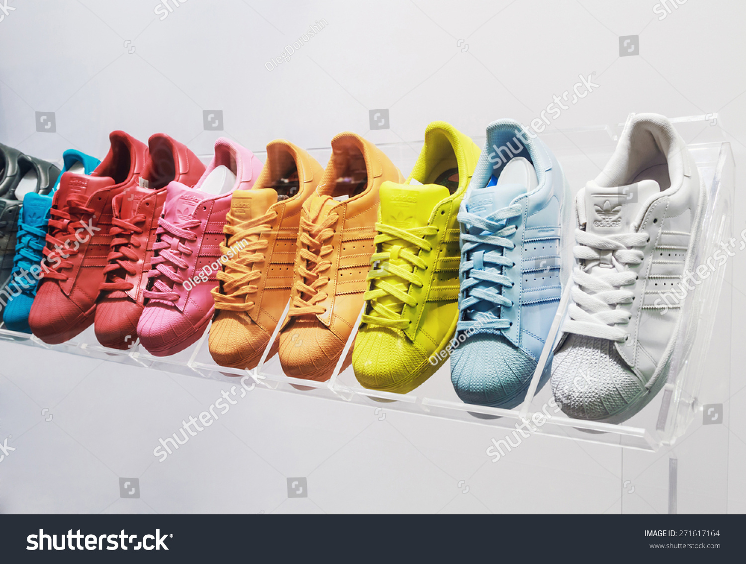 Moscow russia april 19 2015 adidas stock photo 271617164 shutterstock moscow russia april 19 2015 adidas originals sneakers in a shoe store buycottarizona Images