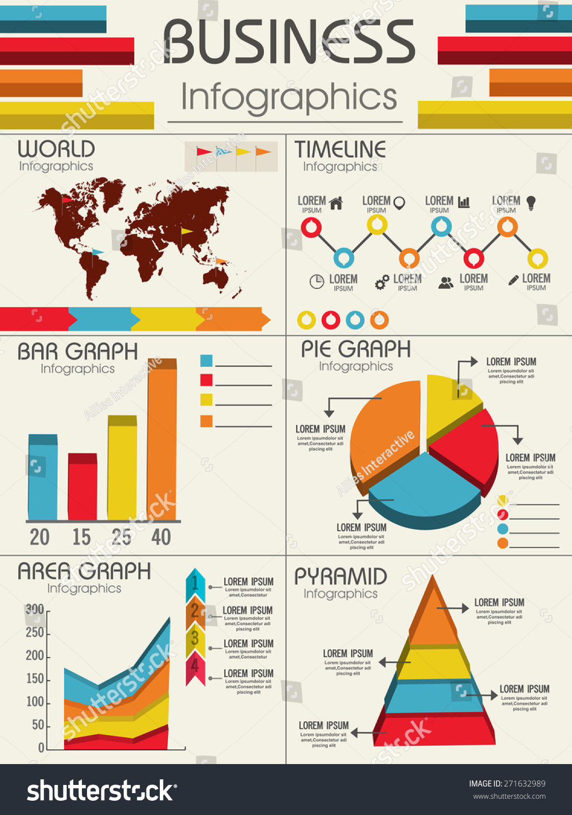 creative business infographic layout different statistical stock