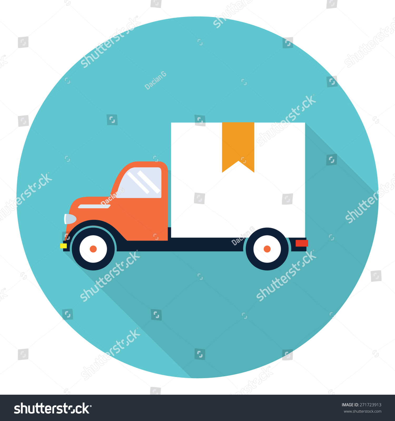 delivery truck icon vector - photo #46