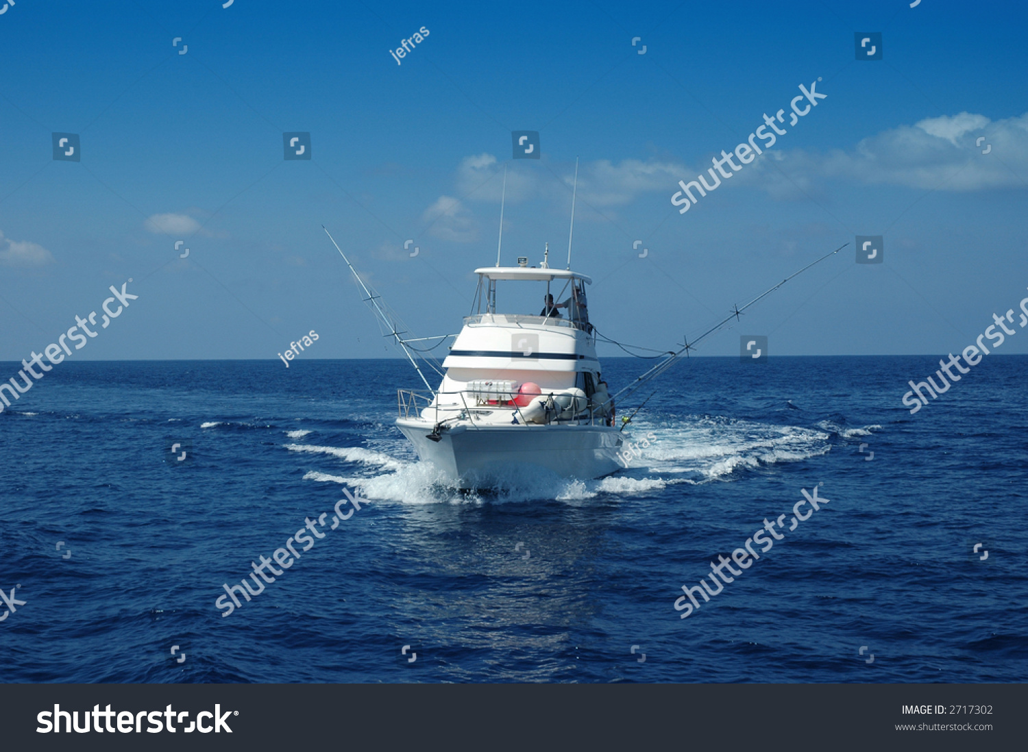 Sport fishing boat ready game fishing stock photo 2717302 for Sport fishing games