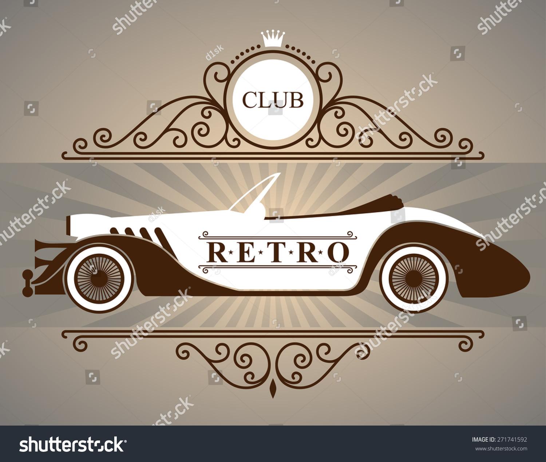 Design car club logo - Retro Car Club Logo