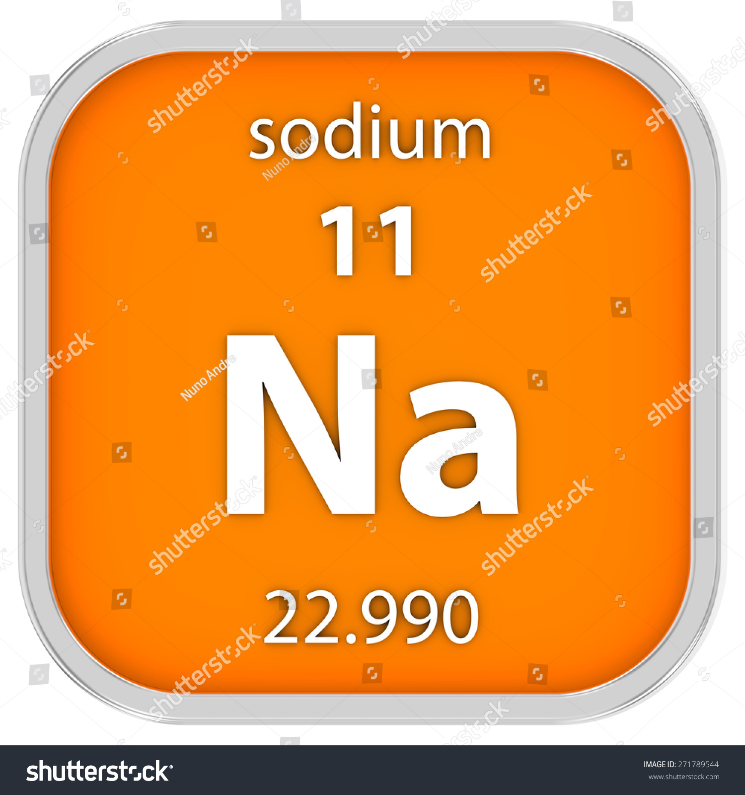 The periodic table sodium gallery periodic table images sodium material on periodic table part stock illustration sodium material on the periodic table part of gamestrikefo Image collections