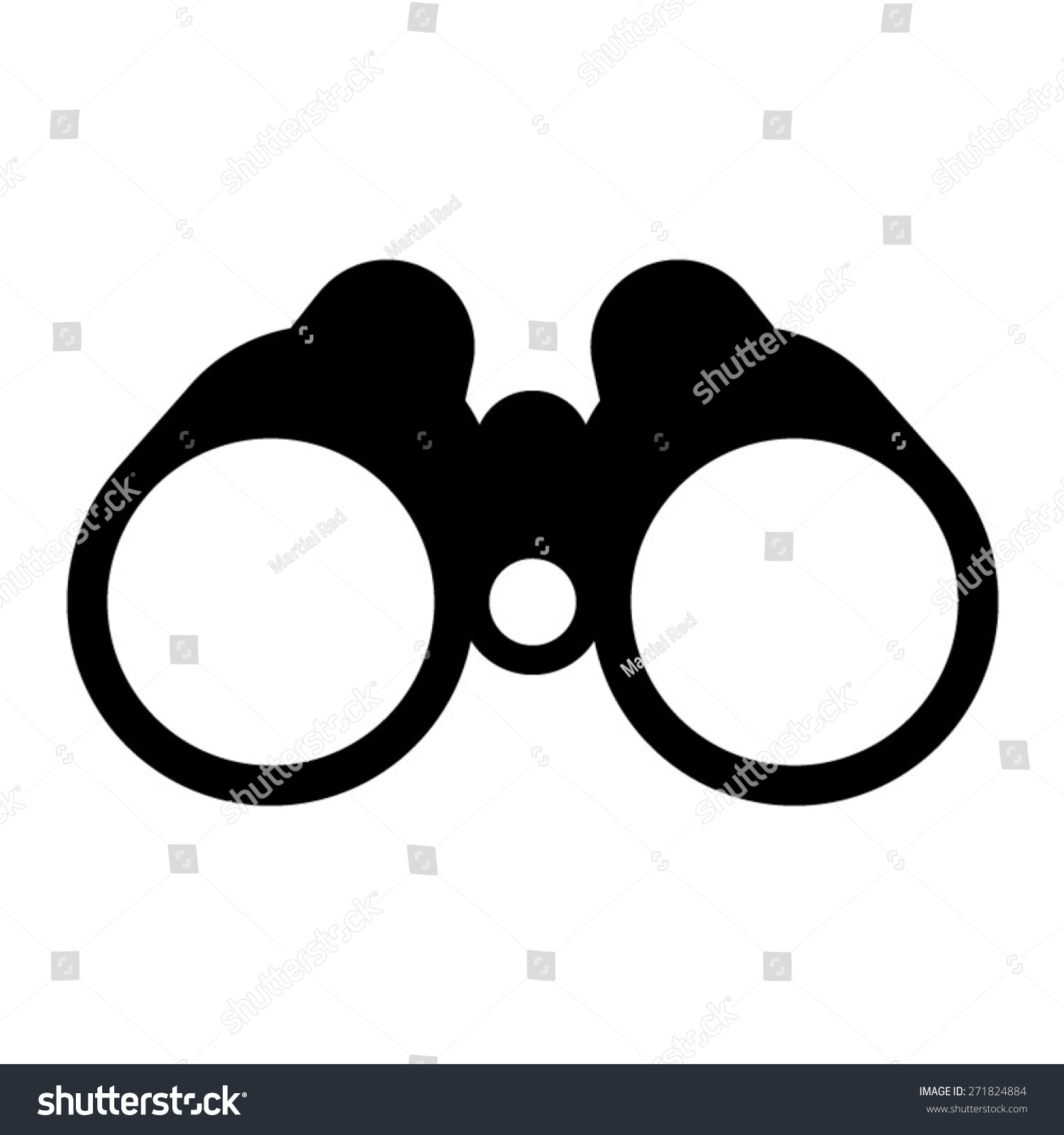 binoculars icon flat - photo #31