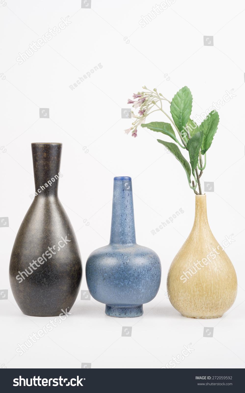 Decorative swedishs vintage ceramic vase flowers stock photo decorative swedishs vintage ceramic vase with flowers on white background reviewsmspy